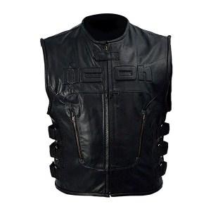 Icon- Leather Vest For Men