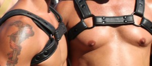 leather bdsm harnesses