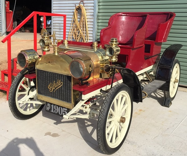 1905 Glide 2 Cylinder owned by Russell & Christine Holden, NSW Australia