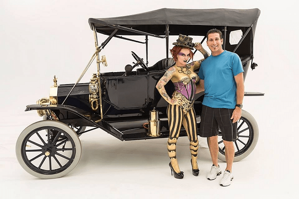 1912 Ford Model T Touring owned by Frank Canino