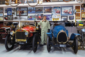 """Highline Autos Magazine's """"Great Garages"""" visit's Alan and Mary Travis' collection."""