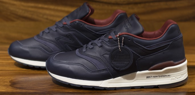 New Balance M997BEXP LSDT Leather SoulLeather Soul