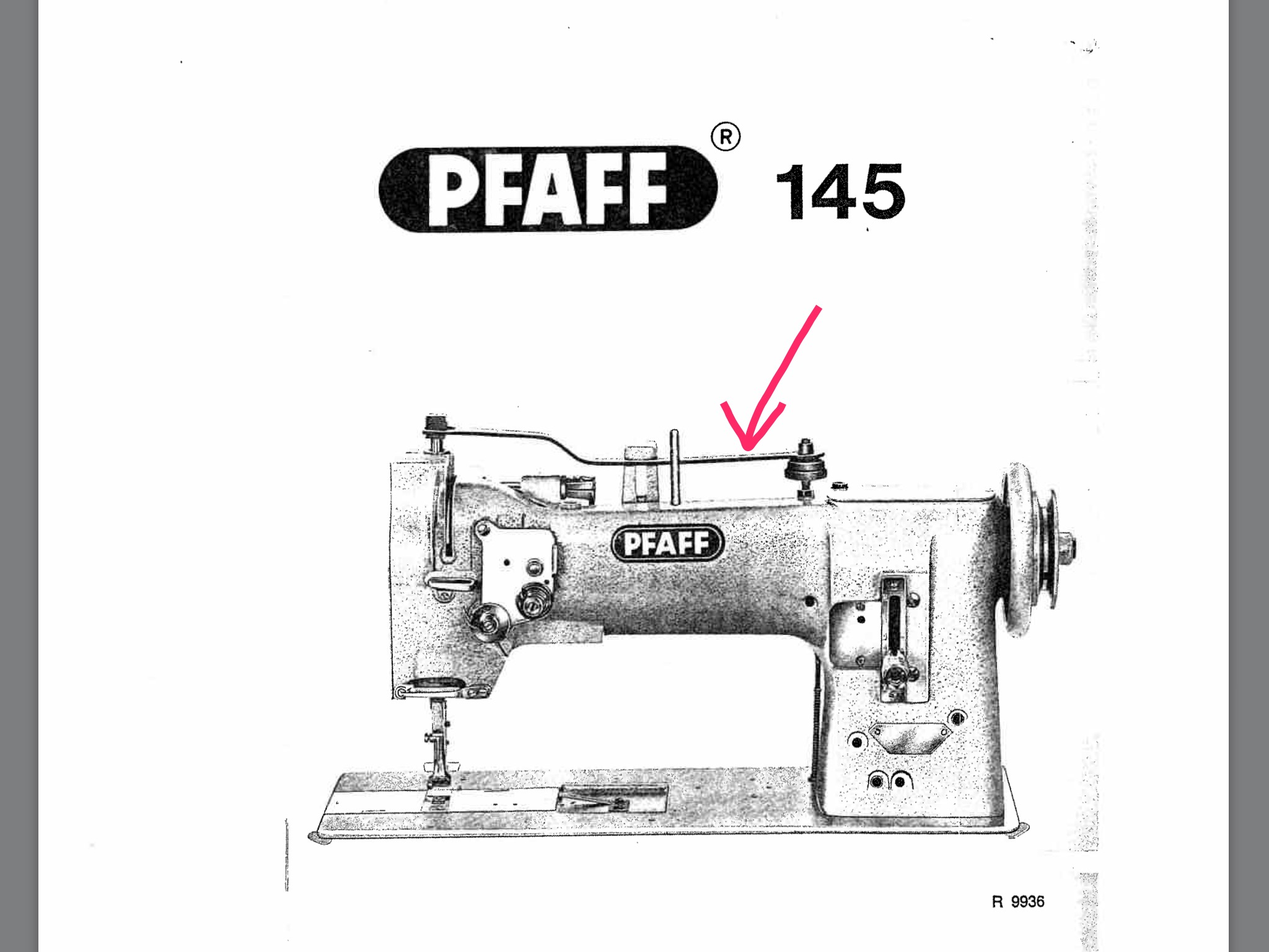 Pfaff 145 H4 And New Tech Servo Motor