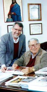 Ed Bernd Jr with Jose Silva