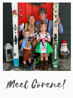 Meet Corene, Adventurer and Owner of Leavenworth Adventures: A Home and Outdoor Adventure Blog