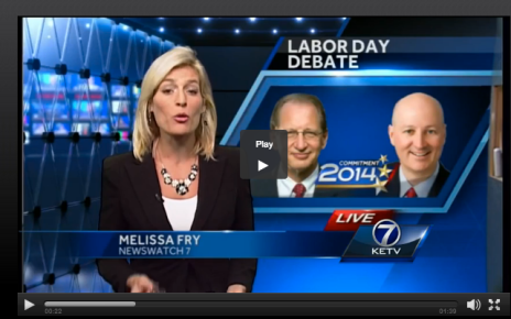 KETV debate wrap 090114 01