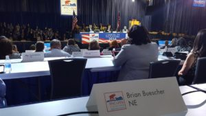 Brian Buescher, tweeting from the Platform Committee