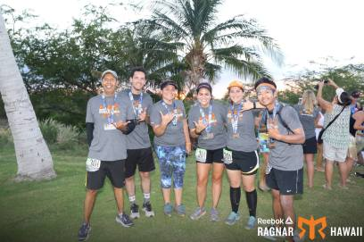 My Ragnar team at the race finish