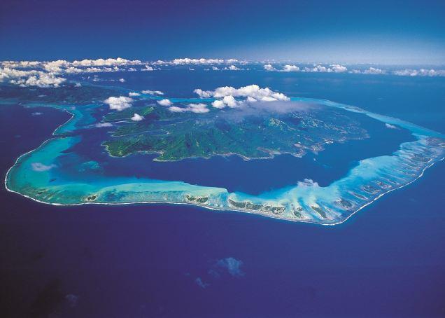 タヒチのライアテア島にて、最善の伝授を再開発します。