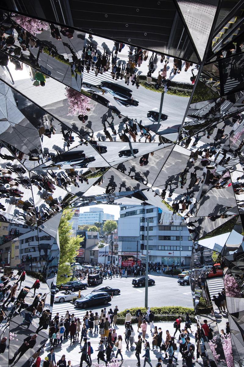 Omote-sando in Tokyo, Japan