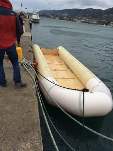 Refugee boat