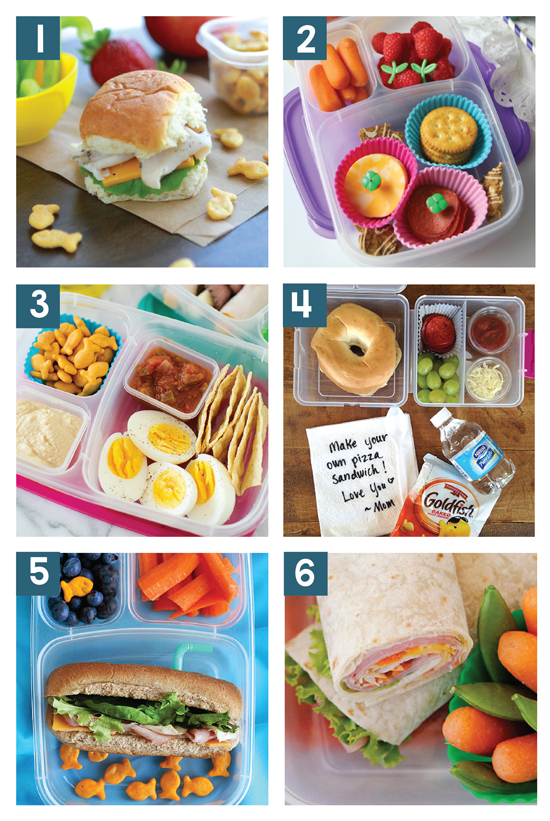 Quick and Easy School Lunch Ideas from The Dating Divas