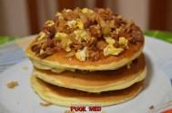 puok e med pancakes ricetta 38 confettura fichi uova strapazzate pepe bacon cipolla croccante