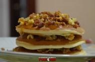 puok e med pancakes ricetta 42 confettura fichi uova strapazzate pepe bacon cipolla croccante