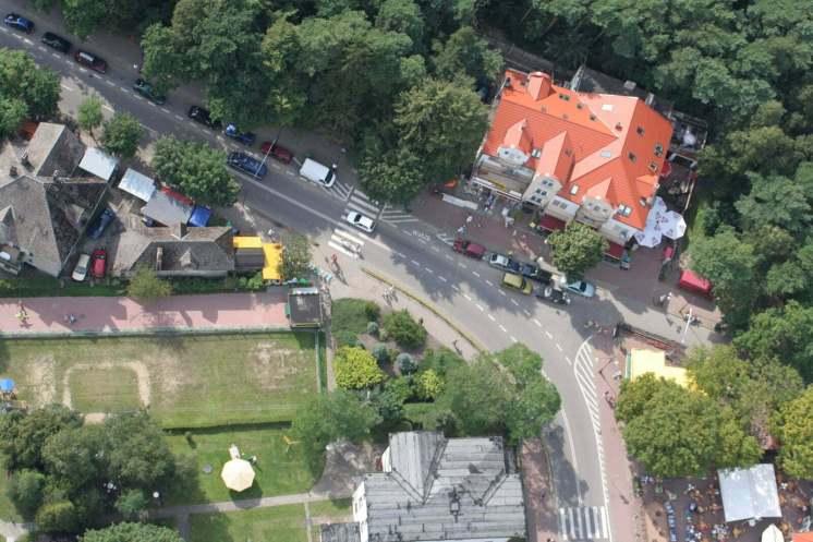 Koniec ulicy Wojska Polskiego