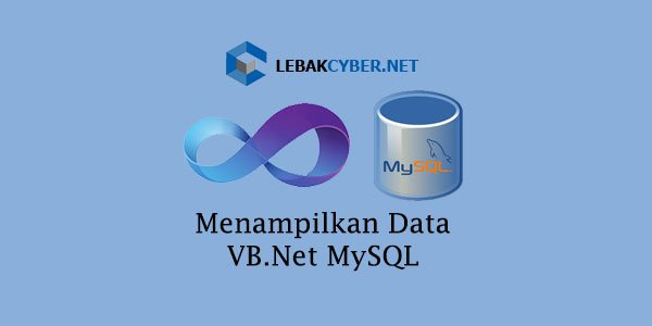 Kali ini kita mempelajari tentang bagaimana cara menampilkan data dari database MySQL ke DataGridView