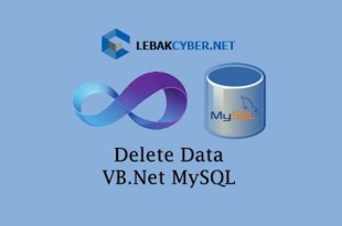 Delete Data Di VB.Net dan Database MySQL
