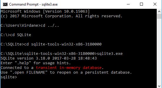 Tutorial Belajar SQLite Cara Install SQLite