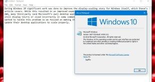 Windows Notepad Akhirnya Mendapat Pembaharuan