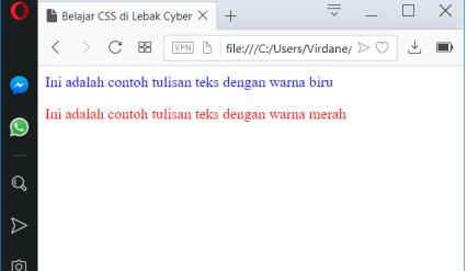 Pengertian Dasar Dari CSS 1