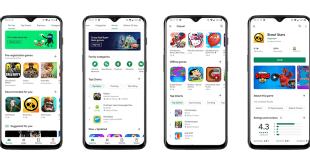 Google Rombak Tampilan Aplikasi Play Store