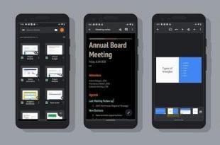 Google Docs Dapatkan Fitur Dark Mode di Android