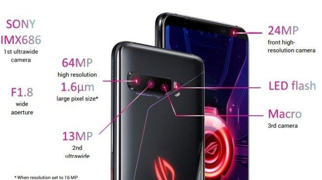 Spesifikasi dan Harga Asus ROG Phone 3