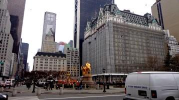 Le célèbre Central Plaza...en travaux v_v
