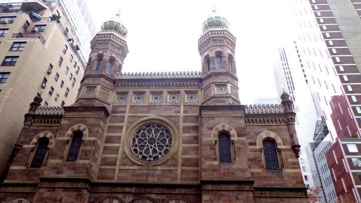 Central Synagogue (entre Lexington Avenue et 55th Street)