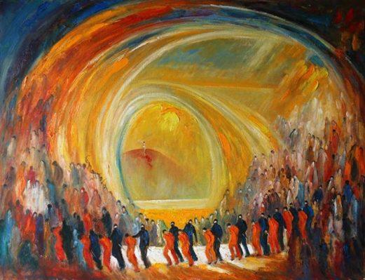 Lebanon art painting artist painter poet history artwork, Redemption