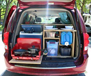 Aménagement de nos vans Road trip Le Baroudeur