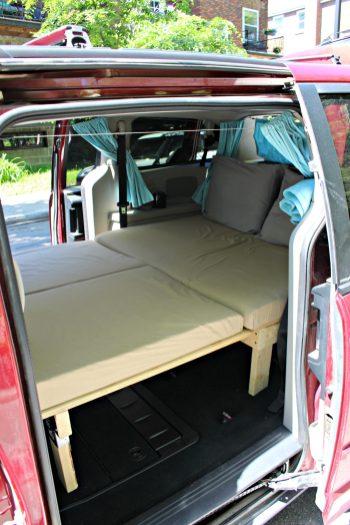 Van's bed