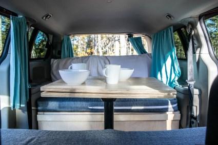espace vie minivan