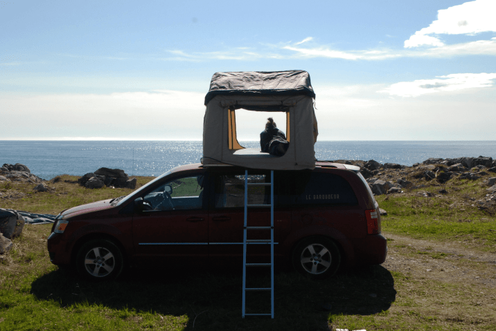 Le Baroudeur van Québec road-trip