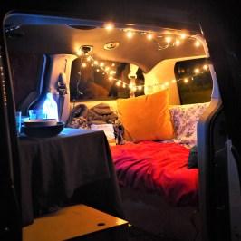 Supper in the van