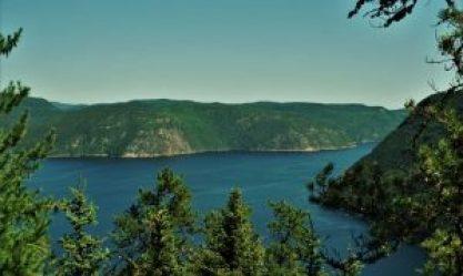 Sentier de la statue - Fjord du Saguenay