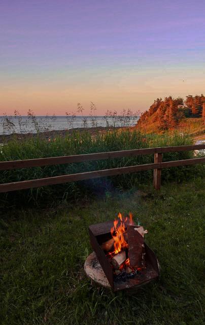 réservation de camping en Gaspésie