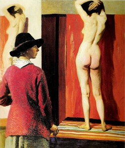 laura knight - self portrait - le bastart