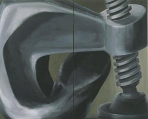 lee lozano - painting - le bastart