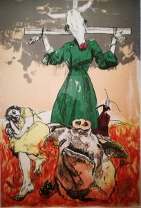 paula rego - scarecrow - le bastart