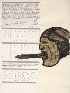 nancy spero - codex artaud 1972 - le bastart