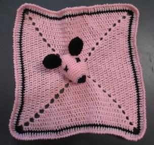 Doudou au crochet granny