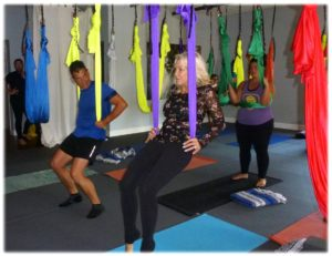 Aerial Yoga in Orlando, Florida