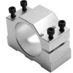 Aluminum Alloy 52mm Motor Mount Fixture Clamp Holder for CNC Spindle free shipping - Fraise à 3 spirales pour coupe profonde bois plastique - Queue 4,7625mm