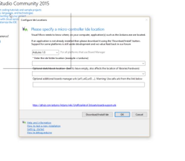 Ecran après installation Visual Micro 300x262 - Visual Micro pour coder Arduino avec Visual Studio