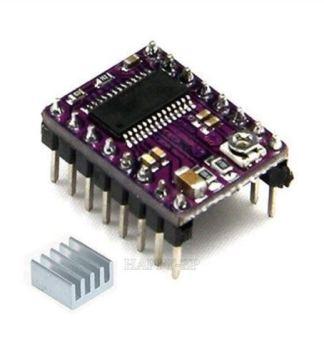 DriverPololuDRV8825 avec radiateur - Driver Pololu DRV 8825, 2,2 Amps Max