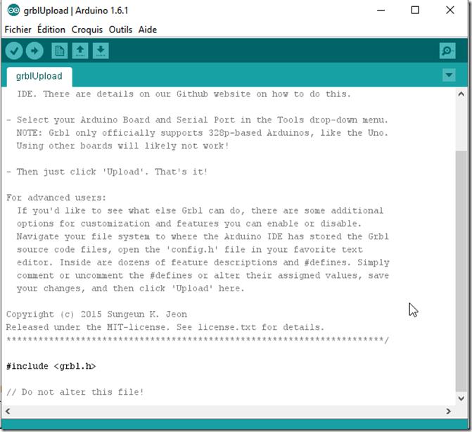 2019-05-13 11_27_12-Installer GRBL sur l'Arduino (Téléverser) - Open Live Writer
