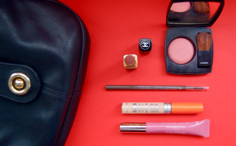 What's in my handbag : the makeup edition