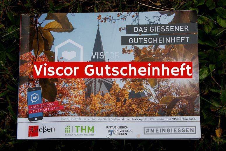 VISCOR Gutscheinheft