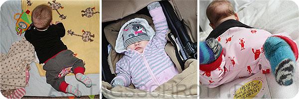 5 Monate Heldenmädchen - Baby entwickelt sich